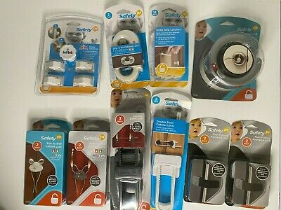 LOT OF 10 Safety 1st Baby Proofing Locks & Latches Brand New Sealed READ