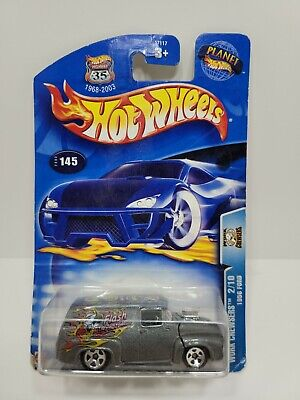 Hot Wheels Work Crewsers 1956 Ford Truck w// Free Atomix Vehicle 2003 #145