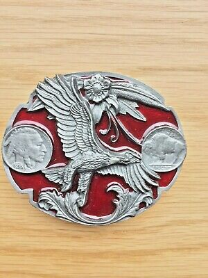 Eagle belt buckle spread eagle Indian style buckle.