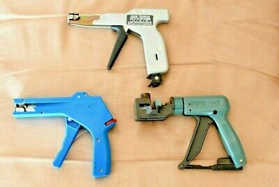 Panduit GS2B Hand Operated Cable Tie Tool and Others (LOT of 3) FREE SHIPPING!