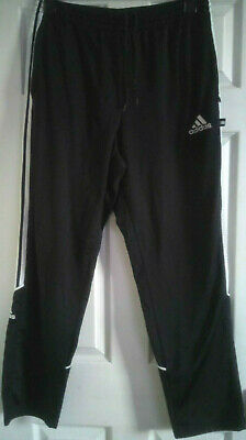 Adidas Mens Jogging Pants Black Size 36
