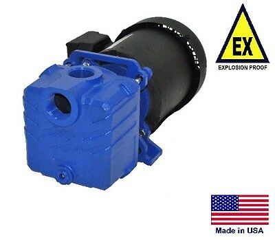 "CENTRIFUGAL PUMP Explosion Proof - 3000 GPH - 1/3 Hp - 115/230V - 1"" Ports"