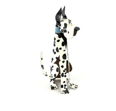 Great Dane Copper Handmade Figurine By Erica Kirchner Ericas Creatures