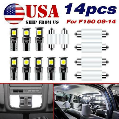 152364 12 LED Interior Lights Package Kit Ford Mondeo MK3 B5Y white
