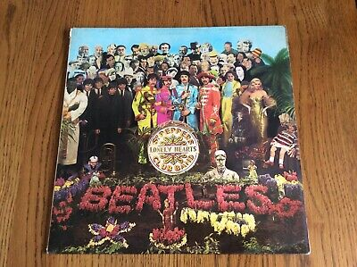 """Sgt. Peppers Lonely Hearts Club Band - The Beatles - 12"""" 1967 Vinyl"""