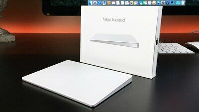 Apple  Magic (MJ2R2LLA) Trackpad 2 with Lightining Cable - White (silver)