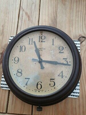 Vintage smiths 8 day wall clock