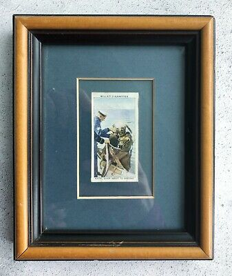 Navy Diver Siebe Gorman Art Print Will's Cigarettes Life in the Royal Navy Card