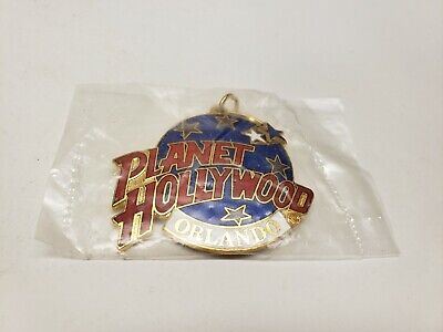 Planet Hollywood Orlando Key Chain Key Ring Collectible Souvenir New In Plastic