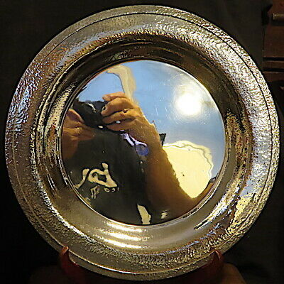Very Rare Arts & Crafts Hand Hammered Hand Wrought Tray, Redlich & Company