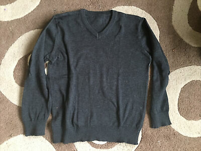 Childs Tesco Grey School Jumper Age 6 - 7 Years