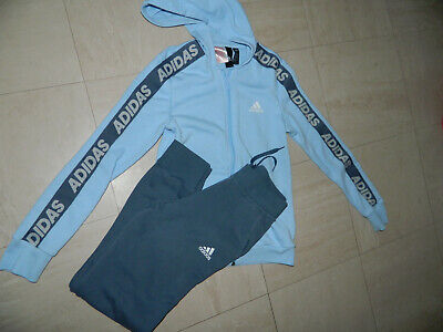 Girls' Adidas Sports wear Full Tracksuit Age 11/12 years Slim Fit