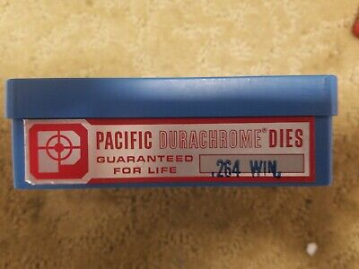 Pacific Dura Chrome Reloading Dies - 264 Win Mag  E xcellent Low Start Price