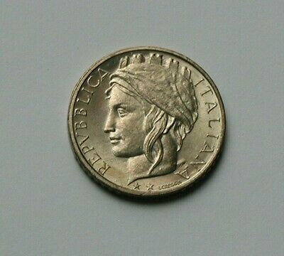 1999 ITALY Coin - 100 Lire - AU+ toned-lustre - Italian girl in scarf