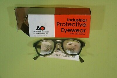 Vintage American Optical Safety Glasses Hipster Steampunk Goggles NIB