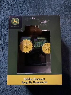 John Deere Tractor Holiday Ornament
