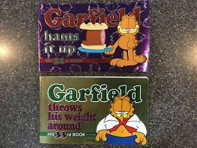 Garfield Books: Throws His Weight Around 1998; Hams It Up 1997