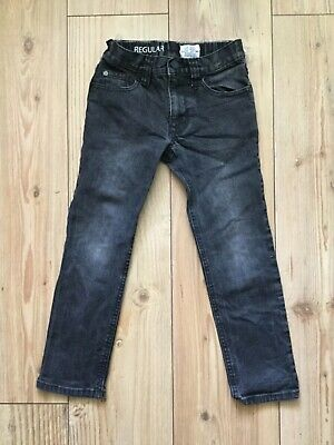 Next Boy's Black Jeans  (6 years), pre-owned.