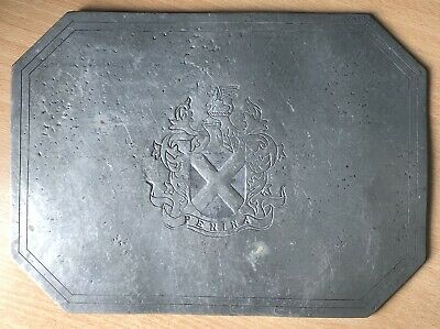 Vintage Pewter Panel/Placemat