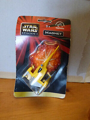 Star Wars Episode 1 3D Magnet Naboo Starfighter Official Merchandise Brand New