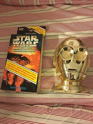 C-3PO Gold Head Star Wars Micro Machines And Rebel Alliance Boxed Set Used Good