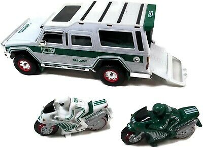 HESS Sport Utility Vehicle and Motorcycles 2004 UNOPENED