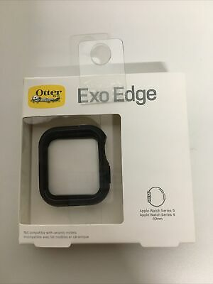 Authentic Otterbox Exo Edge Case for Apple Watch Series 4 & 5 40mm Black New!!