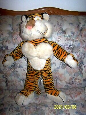 "EXXON Promotional 'Put A Tiger In Your Tank' Collectible Stuffed Tiger 25"" Tall"