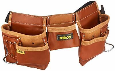 Rolson 68878 Brown Double Tool Pouch, Black