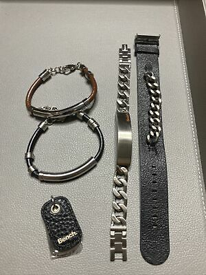 stainless steel mens jewellery Joblot (5 items)