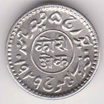 Kutch State-1929-King George 5/Khengarji-1 Kori-Rarest Beautiful Silver Coin