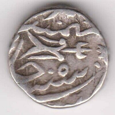 Gwalior State-Bhilsa Mint-Ry:12-One Rupee-Rarest Beautiful Silver Coin