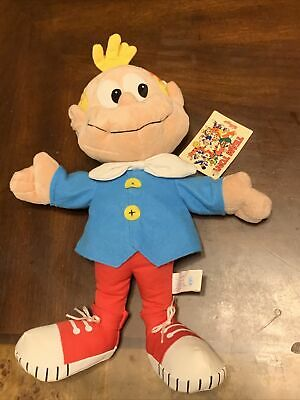 KELLOGGs PLUSH CHARACTER CRACKLE FROM RICE CRISPYS CEREAL  - TEAM TONY  NWT