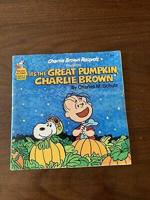 Great Pumpkin Charlie Brown Records book & record CLEAN read a long