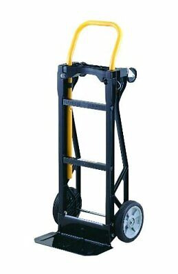 Lightweight 400 lb Capacity Glass Filled Nylon Plastic Convertible Hand Truck a