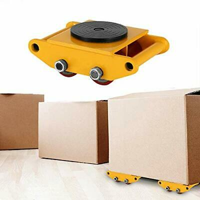 6T Industrial Machinery Mover 13200LBS Machinery Skate Heavy Duty Dolly Skate R