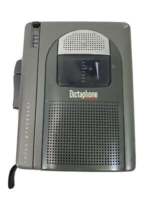 DICTAPHONE 2225 Standard Cassette Voice Processor Voice Activated Recording