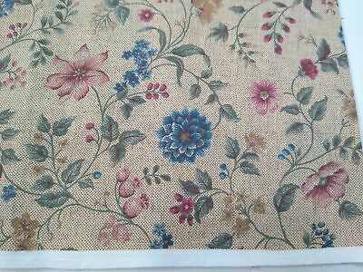 Vip quilting DD 12A,B,D      LL 21-22,45-46 Printworks pink sewing CRANSTON Calico cotton fabric floral blue purple love birds
