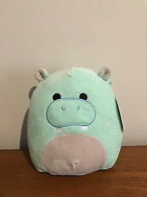 Squishmallow Lot of 3 NEW Kellytoy. Hank the Hippo /& Micromallows