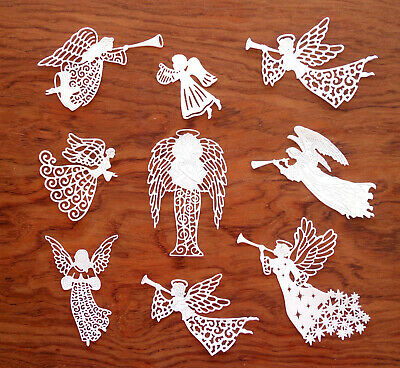 Tattered Lace x2 GUI Carte Topper Die Cuts Christmas