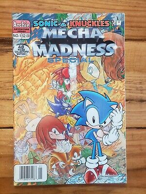 1994, ARCHIE Unopened!! SONIC THE HEDGEHOG 13 1ST APPEARANCE KNUCKLES RARE HTF
