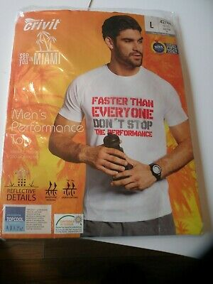 Crivit Mens Performance Thermal Top Size Available L