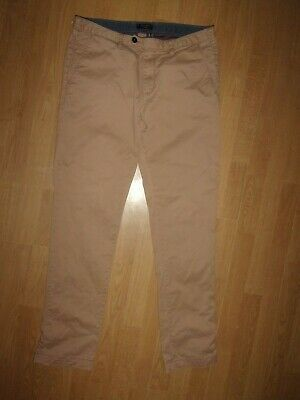 """30R NEW TAGS TED BAKER BEIGE BROWN /""""CHAADE/"""" CLASSIC FIT TROUSERS PANTS CHINOS"""