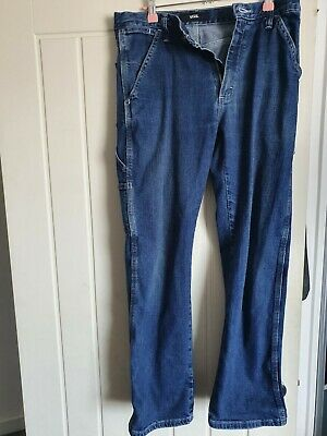 """Brand New 34/"""" W Go Vicinity Pig Canvas Jeans   Vintage Road 2005//6"""