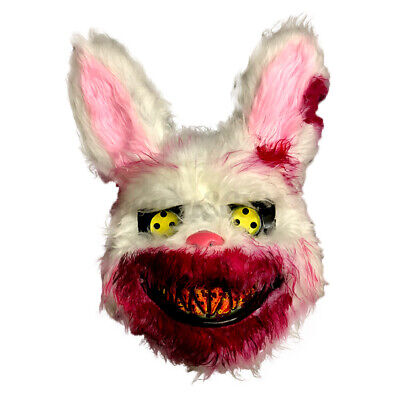 Bloody Rabbit Full Face Mask Halloween Masquerade Party Cosplay Scary One