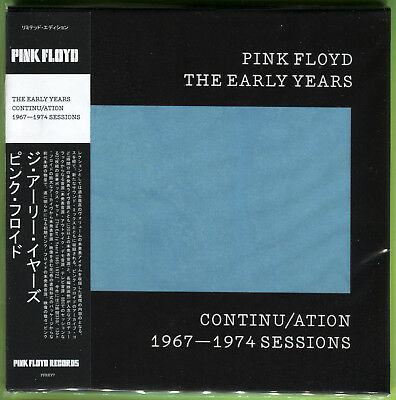 Pink Floyd THE EARLY YEARS. CONTINU/ATION: 1967-1974 BBC SESSIONS CD mini-LP