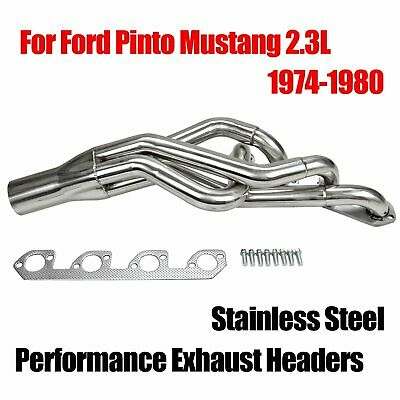 Raw Finish Fits Ford 2.3 Pinto Modified Header