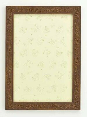 26 x 38 cm Free Ship w//Tracking# New Japan Puzzle frame Crystal panel Brown