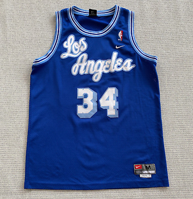 NIKE SHAQUILLE O'NEAL MPLS Lakers Jersey - $125.00 | PicClick