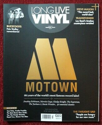 LONG LIVE VINYL ISSUE 23 February 2019 - Motown Issue Mint ...